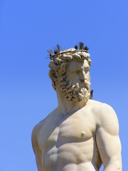 Neptun, fontanna Neptuna, Florencja