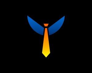 tie winged