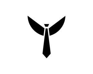 tie ,winged