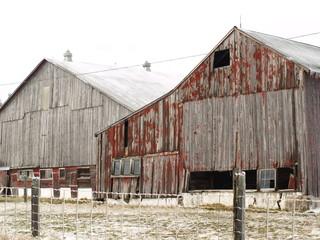 Crumbling old barn III