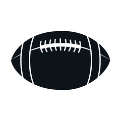 american football balloon icon vector illustration design
