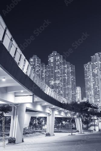 """""""pedestrian Walkway In Residential District In Hong Kong"""