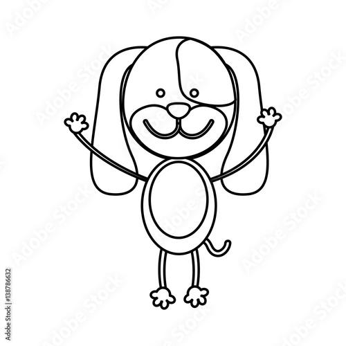 Figure teddy dog icon vector illustration design image fichier v - Figure libre architecture ...