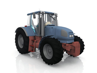The tractor