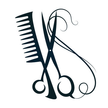 Scissors and Comb Hair