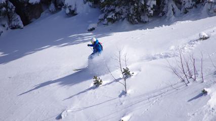 ski hors piste - freeride