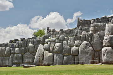 Saqsaywaman inca site. Cusco. Peru