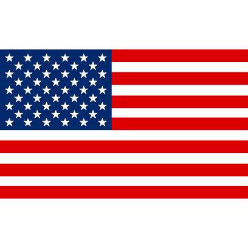 American flag image. American flag drawing JPG. American flag template. American flag EPS vector illustration. American leaf