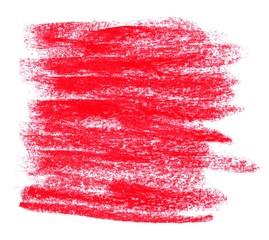Gemalter unordentlicher Hintergrund rot