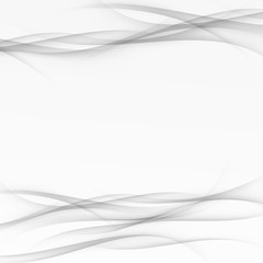 Grayscale modernistic swoosh line wave layout