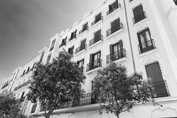 Madrid (Spain):  building