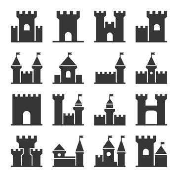 Castle Icon Set