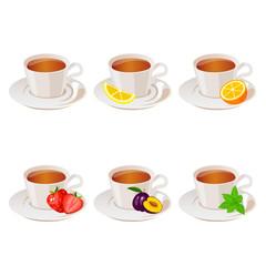 illustration of tea cup