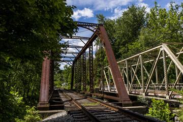 Historic Railroad Truss Bridge - Pennsylvania