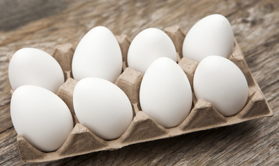 carton d œufs blanc