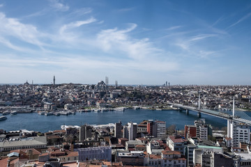 Istambul Bosphorus panorama.