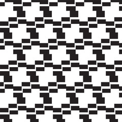 black square steps pattern background