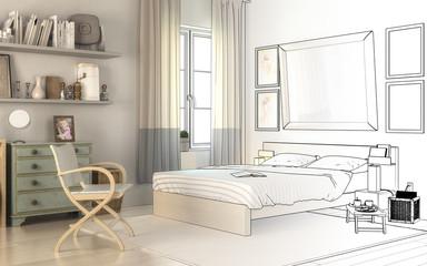 Im Schlafzimmer (Konzeption)