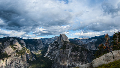 Beauty of half-dome
