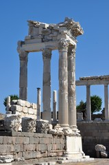 Temple of Trajan in Pergamon