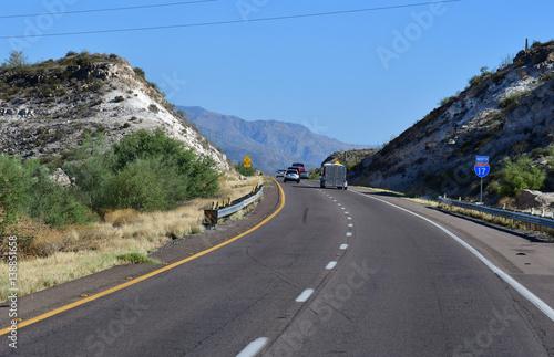 Phoenix To Flagstaff >> Arizona Usa July 7 2016 Interstate 17 Between Phoenix And