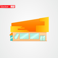 Store image on a light background