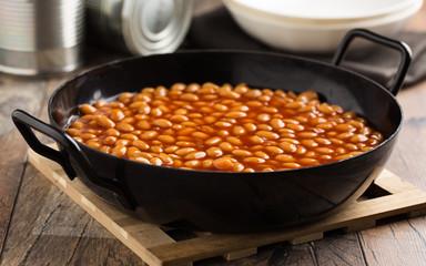 Gebackene Bohnen - Baked beans