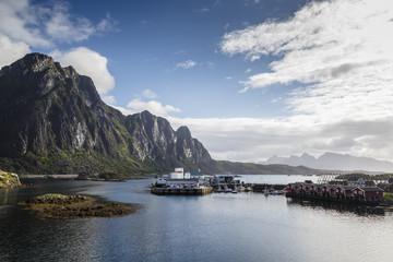 Landscape, Svolvaer, Lofoten Islands, Norway.