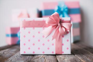 Stylish gift box.