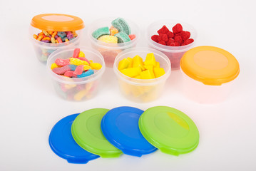 Multipurpose plastic containers
