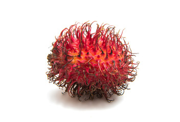 rambutan fruit isolated