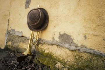 Trumpet Pork Pie Hat