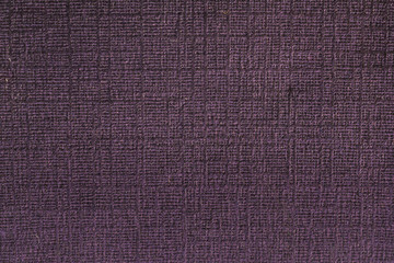 Purple rugged cloth