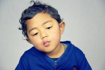 2 year-old boy portrait