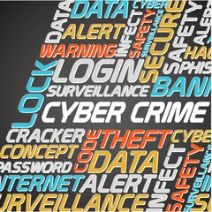 Network and data security word cloud