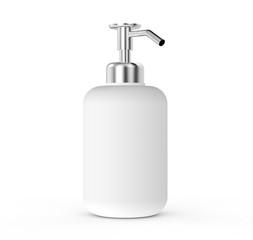 Blank dispenser pump bottle