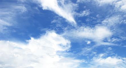 Tuinposter Aan het plafond blue sky with cloud