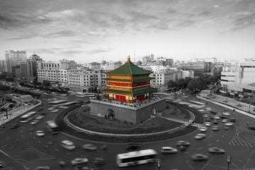 Foto op Aluminium Xian Xi'an city building