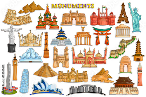 famous world monument pack - photo #25