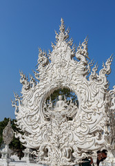 Fotobehang Monument White Temple - Wat Rong Khun
