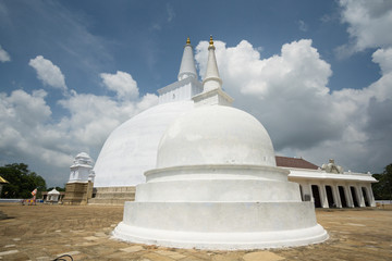 The pagodas of Anuradhapura