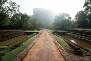 Sunrise over Sigiriya