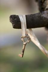 Magical, enchanted Key