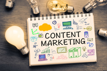 Content Marketing Wall mural