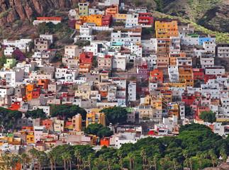 Das Dorf  San Andres an der Küste von Teneriffa