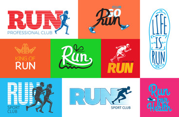 Run Professional Club. Club Go Run. Life is Run.