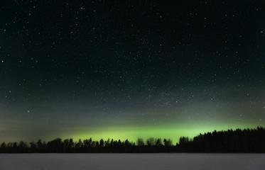 Northern lights in Västerås, Sweden