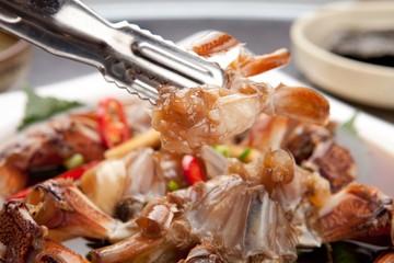soy sauce marinated crab