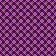Star seamless pattern