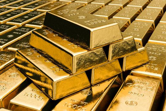 Goldbarren 1000g